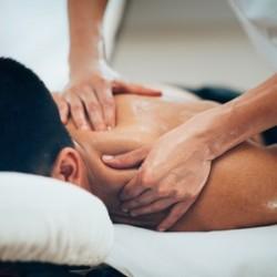 Shoulder massage as part of Sports Massage treatment